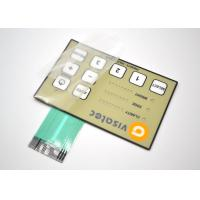 Buy cheap Glossy Surface Tactile Membrane Switch Panel For Medical Instruments Light Weight product