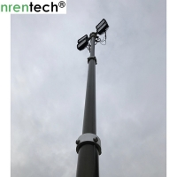 Buy cheap 3.5m pneumatic telescopic mast inside wires for mobile light tower, fire truck from wholesalers