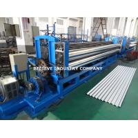 Buy cheap Corrugated Sheet Roll Forming Machine Galvanized Steel / PPGI Steel / Galvalume Use product