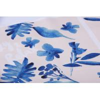 Buy cheap Digital Inkjet Printing / Cotton Canvas Fabric With Beautiful Pattern product