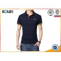 Buy cheap Men'S Fashion Custom Polo Shirt / Embroidery Polo Shirt Contrast Color Neck product