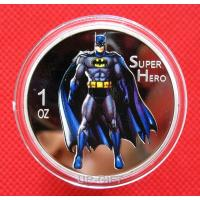 Buy cheap Hot Sale Silver Plated custom coin / Super Man Challenge Coin Custom product