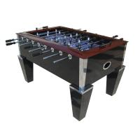 Buy cheap Deluxe Soccer Game Table 5FT Wood Top Rail With Metal Corner Chrome OEM product