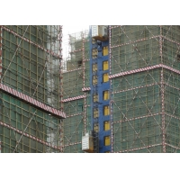 Buy cheap Rack And Pinion Material Lift 400 M Building Site Hoist product