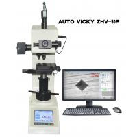 Buy cheap High Definition Portable Vickers Hardness Tester Auto Loading Dwell / Unloading product