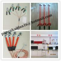 Buy cheap Copper grounding rod&earth rods,Short-circuit Grounding operation Pole product