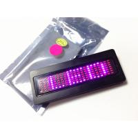 Buy cheap Programmalbe scorlling LED message name badge in Pink LED tagz product