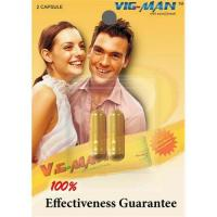 Buy cheap VIG-MAN Herbal Natural Sex Enhancement Capsules,Private Lable,Factory Price product