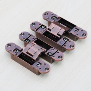 Buy cheap 3d hidden door hinges manufacturer 180 Degree 3D Adjustable Invisible Door Hinges product