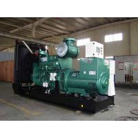 Buy cheap Electronic Cummins Diesel Generators With Water Cooling, 800KW, 3 phase,50HZ from wholesalers