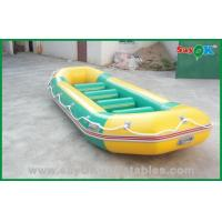 Buy cheap Water Park 4 Persons PVC Inflatable Boats For Adults , Promotional Inflatables product