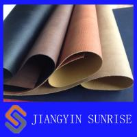 Buy cheap Anti - Ageing PU Synthetic Leather Upholstery Fabric Approved ROHS product