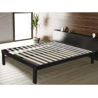 Sturdy Steel Frame Double Bed With Corner And Floor Protector Modern Bedroom Furniture