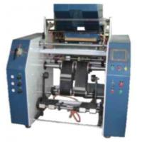 Buy cheap Winding Automatic Stretch Film Rewinding Machiner , PP Food Cling Film Rewinder Machinery product