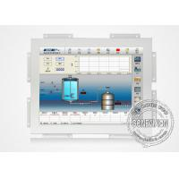 Buy cheap White Color Touch Screen Open Frame Lcd Monitors Wall Mount High Brightness product