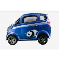 Buy cheap 60 V Mini Electric Car With Disc Brake Steering Wheel 350 Kg Easy Operation product