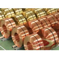 Quality Thin Insulated Electrolytic Copper Foil Roll , Copper Sheet Metal for sale
