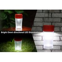Buy cheap Portable Solar Lamp with electronic rotary switch for family garage or camp Activities product