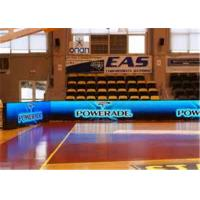 HD P6 Indoor Full Color LED Perimeter Advertising Boards For Basketball Ground