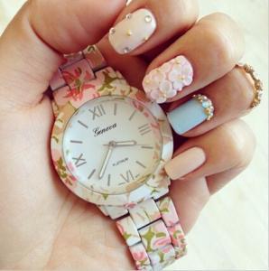 Buy cheap Unisex Zinc Alloy Relojes Geneva Flower Watch Japan Movt / Women Casual Watch product