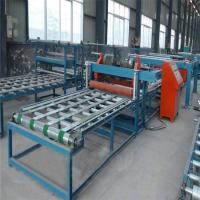 China High Efficiency Fiber Cement Board Production Line Wall Panel Making Machine on sale