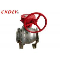 Buy cheap DN150 6 Inch 2PC Trunnion Ball Valve CF8M Stainless Steel Split Body Price product