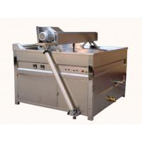Buy cheap Automatic Stirring Plantain Chips Fryer Machine / 79kw Peanut Frying Machine product