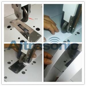 Rotatory Ultrasonic Welder For Sealing / Cutting Nylon Laminated Fabric Filtering Paper