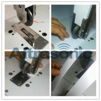 Quality Rotatory Ultrasonic Welder For Sealing / Cutting Nylon Laminated Fabric Filtering Paper for sale