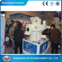 Buy cheap Compact Structure Compress Wood Pellet Machine , Pelletizer Equipment 0.5-0.8 T / H product
