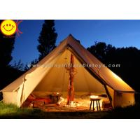 Buy cheap Big 12 Persons Inflatable Tent Canvas Bell Tent 5 X 5M Waterproof For Wedding Party from Wholesalers
