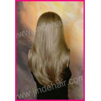 China Jinde Silky Straight Blond European Hair Wig on sale