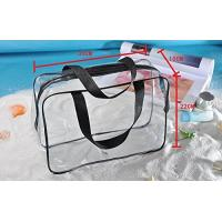 China Clear PVC Bag For Men And Women , Light Weight PVC Designer Bags ROHS Approved on sale