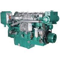 Buy cheap Marine Diesel Engines 112 Kw 152 HP For Boat With Four Stroke Binary Cooling product