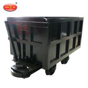 China High Quality Mining Equipment YCC Curved Rail Side Dumping Car on sale