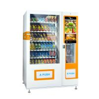 China Media Vending Machine For Selling Foods And Drinks Combo vending machine on sale