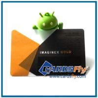 Buy cheap transparent plastic cards product