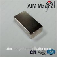 "Buy cheap N42 1/2 "" x 1/8 "" x 1/16"" Neodymium magnet product"
