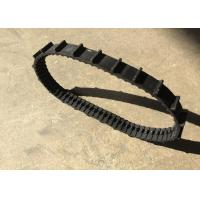 Buy cheap 32 * 12.7 * 66 small size robot Rubber Tracks with length 838.2mm weight 0.5kg product