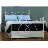 Queen Size Metal Frame Bed Stainless Steel Bed Furniture For Living Room