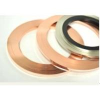 Buy cheap AgCu Copper Alloy Strip Precious Metal Dual Side Inlay For Electrical Brush product