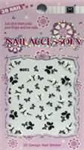 Buy cheap Custom beautiful glue, rhinestone stickers White + Purple color for Nail Art product
