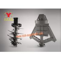 China 42CrMo Material Earth Auger Drill Bit Forging Process For Mining / Drilling on sale