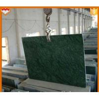 Buy cheap Polished Verde Green Marble , India Marble Dining Table 36''X36'' product