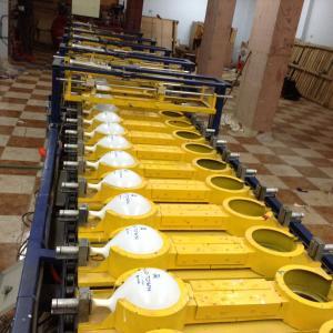 Register colors balloon printing machine