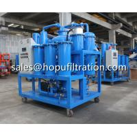 Buy cheap Hot Sale Turbine oil Purifier,Hydraulic Oil Recycling Plant, High Performance Vacuum Turbine Oil Regeneration System product