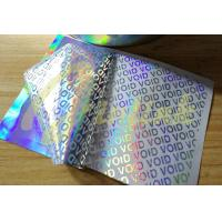 Buy cheap Tamper evident security material--Hologram label material--TT/PT/NT optional product