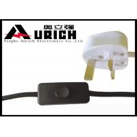 Buy cheap 13A Britain Head Power Extension Cord Cable UK 3 Pin Plug For Lights Free Sample product