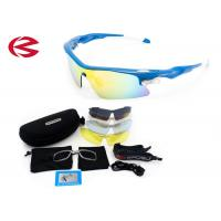 Buy cheap Custom Cycling Outdoor Sports Sunglasses For Men / Women / Kids 4 Colored Lens product