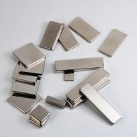 Buy cheap Nickel permanent strong block / cube neodymium magnet for industry or package product